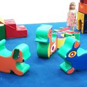 Мягкая игрушка-стульчик Зайчик Артикул И-003 фото