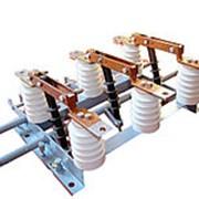 Разъединитель переменного тока напряжением 10 кВ РВ-10/630-УХЛ 2, РЛД(З)-10Б/400-У1 фото
