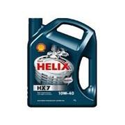 10/40 Helix HX7 Shell 4л. п/синт. API SN/CF Масло моторное фото