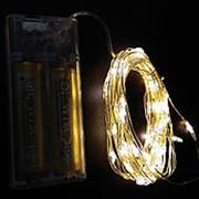 Гирлянда LED LD-153 белая 5м фото