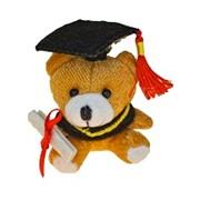 Брелок Мишка-выпускник фото