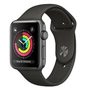 Часы Apple Watch Series 3 38mm Aluminum Case with Sport Band (Black) MQKV2 фото