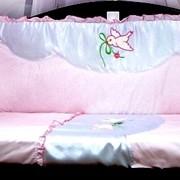 """Защитное ограждение в кроватку """"Свитанок"""" фото"""
