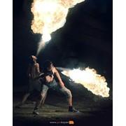 Огненное шоу (fire show) фото