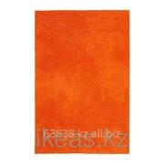 Коврик для ванной, оранжевый ТОФТБУ фото