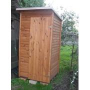 Деревянные туалетные кабинки для дачи фото