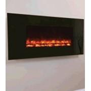 Электрокамин Black Glass 1100 фото