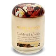 Heart&Home, Свеча «Cандаловое дерево и ваниль», большая, 310 г фото