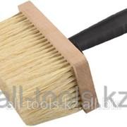 Кисть-макловица Зубр Мастер битумная, деревянный корпус, щетина из натурального волокна, 70х170мм Код: 4-01853-17 фото
