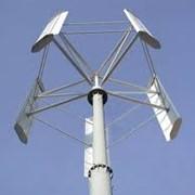 """Ветрогенератор """"АЛЬЭН Air Vertical - 3 кВт"""" (вертикально-осевой, вертикальный) фото"""