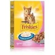 Сухой корм Friskies Junoir для котят, с курицей, морковью и молоком 400г фото