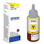 Контейнер с чернилами Epson C13T66444A Yellow original фото