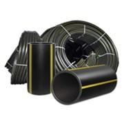 Трубы газовые из полиэтилена ПЭ 80 PN 10,ПЭ 100 PN 12,5 SDR 13,6, Dn-250, ст-18,4 фото