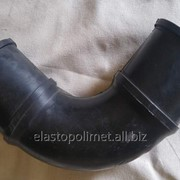 Резиновые колена Эластополимет различных размеров фото
