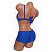 010-1 Купальник женский раздельный с шортами 36-44(+4) фото