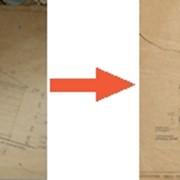 Сканирование чертежей фото