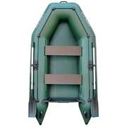Лодка надувная двухместная моторная Колибри КМ-260 фото