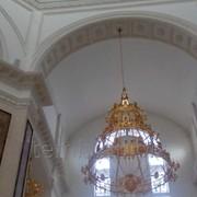 Лепнина из гипса / убранство для храмов / церквей, концертных залов, клубов, залов, ресторанов, квартир и домов фото