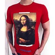 Футболка Off-White Mona Lisa фото