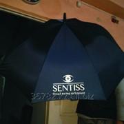Нанесение логотипа на зонт фото