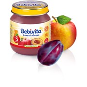 Пюре Bebivita 100г Слива яблоко фото