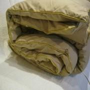Одеяло из верблюжьей шерсти в тике фото
