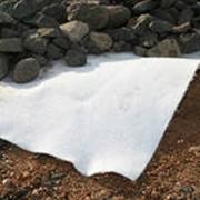 Геотекстиль (дорнит) нетканый, иглопрбивной, термоскреплённый фото
