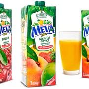 """Соки и нектары """"MEVA Juice"""" фото"""