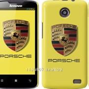 Чехол на Lenovo A820 Porsche. Logo v2 3136c-68 фото