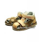 Летние сандалии кожаные 3114 фото