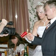 Видеооператор на свадьбу фото