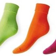 Носки гладкие с оборкой SKGW фото