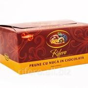 Конфеты Чернослив в шоколаде с грецким орехом фото