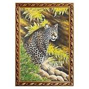 "Картина ""Леопард"" багет 46х66 см фото"