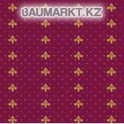 Ковролан Aquarelle 157 8 41055, красный с лилиями, 4м фото