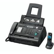 KX-FLC418RU Panasonic факсимильный аппарат лазерный, Чёрный фото