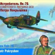 Истребитель Як-7Б Петра Покрышева фото