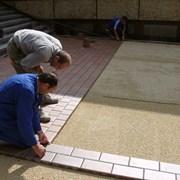 Укладка тротуарной плитки с гарантией качества фото