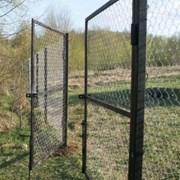 Ворота и калитки металлические фото