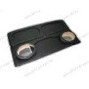 Акустическая полка на ВАЗ 2114 черная, на фанере, стандарт фото