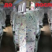 Химчистка автобусов фото