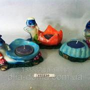 Подсвечник из керамики Дельфин 103230 фото