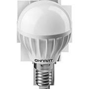 Лампа ОНЛАЙТ 71625 G45/8Вт/4000К/Е14 шарик /10/100/ фото
