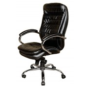 Кресло Baldu visata Malibu black/bordo PU фото