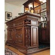 Изготовление мебели для бара из массива по доступной цене под заказ фото