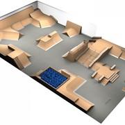 Проектирование скейтпарков фото
