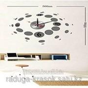 Часы-Стикеры Наклейки размер 50Х47 фото
