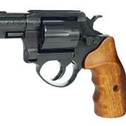 Револьвер ME-38 POCKET 4R, черный, деревянная рукоятка фото