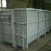 Бункер-накопитель для мусора (ТБО) от 15 м.куб. до 30 м.куб. фото