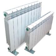 Алюминиевые и биметаллические радиаторы фото